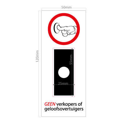 geen-verkoop-of-geloofsovertuigers-aan-de-deur-wit-standaard-bel