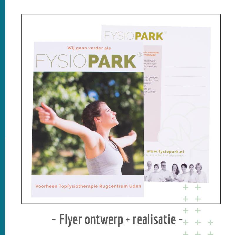 flyer ontwerp - reclame uiting creabron