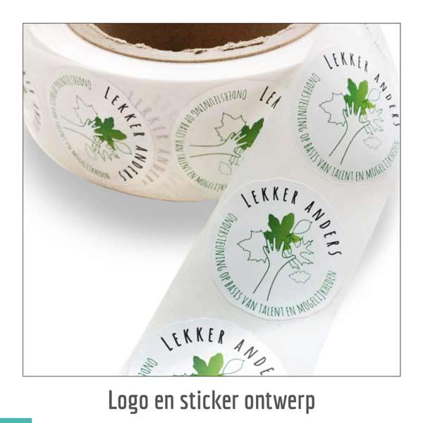 logo en sticker ontwerp voor Carrousel Groen uit Schaijk
